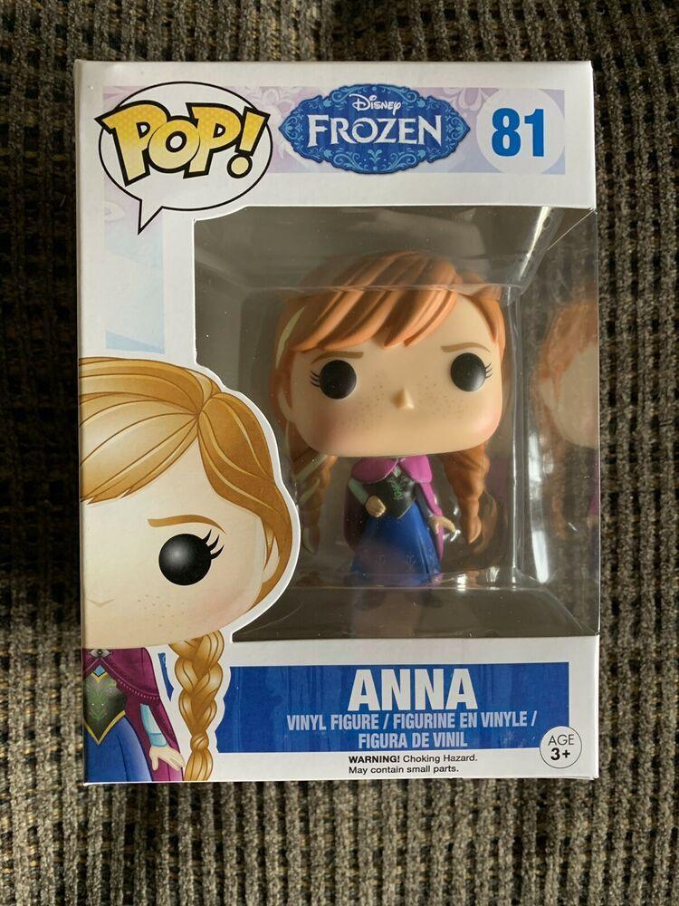 New Funko Pop Disney Frozen Vinyl Action figure Anna #81