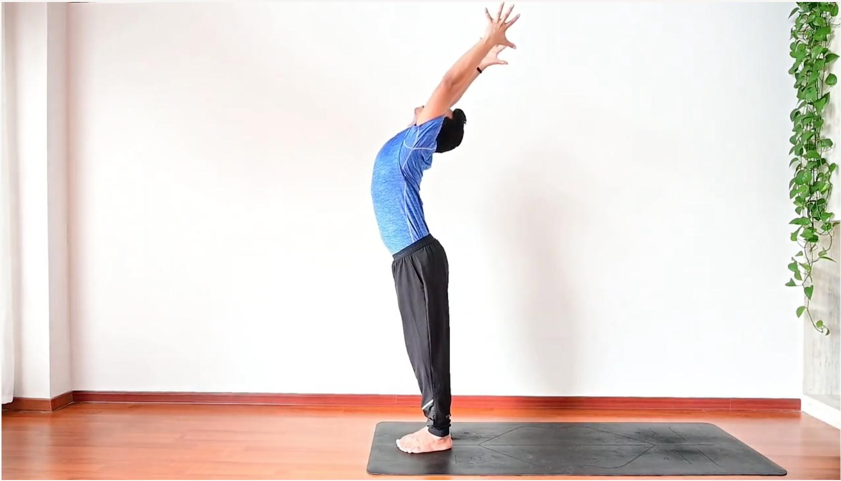 Hatha Yoga Sun Salutation Step By Step Instruction Surya Namaskar Sivana East In 2020 Hatha Yoga Yoga Sun Salutation Surya Namaskar