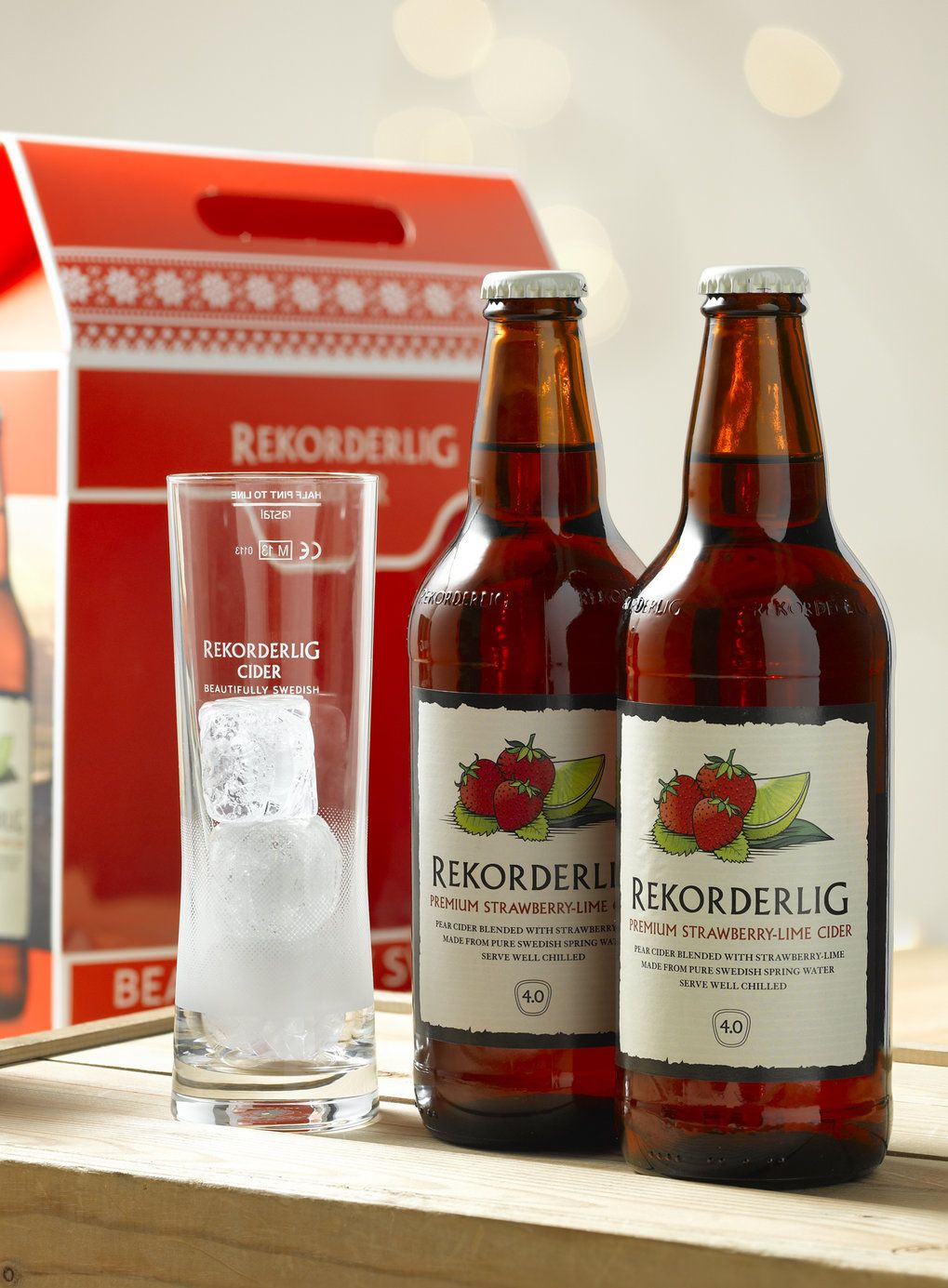 Rekorderlig Strawberry Lime Speciality Gift Set Wine Recipes Strawberry Lime Food
