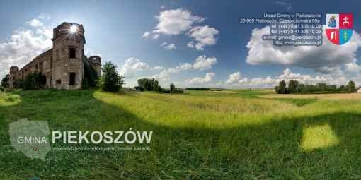 Zobacz wirtualny spacer: gmina PIEKOSZÓW, panoramy - POWIAT KIELECKI, region WOJ. ŚWIĘTOKRZYSKIE