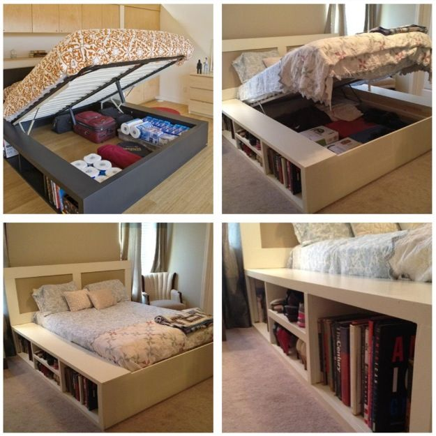 Awesome storage bed