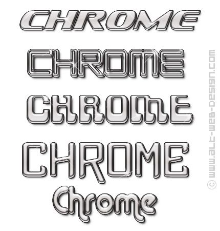 3d Font Styles