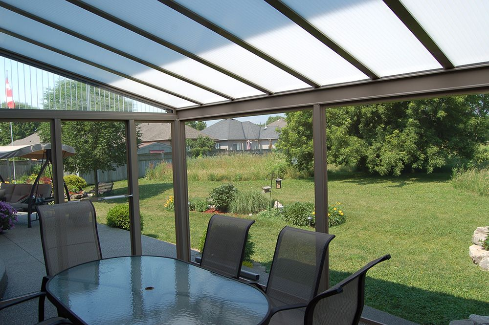 Screen Rooms | Natural Light Patio Covers