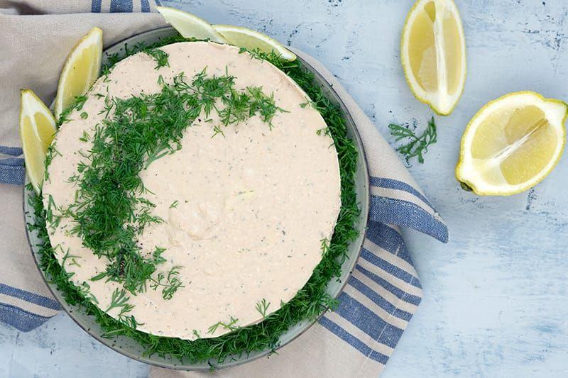 Tunmousse - opskrift på den lækreste cremede tun mousse