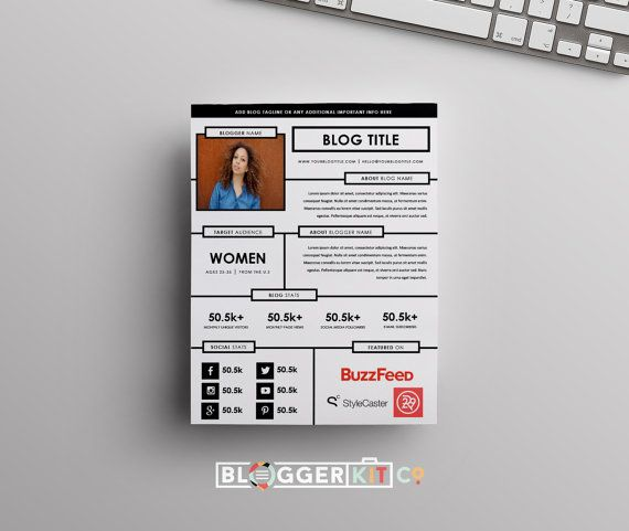 Electronic Press Kit Template Free Download from i.pinimg.com