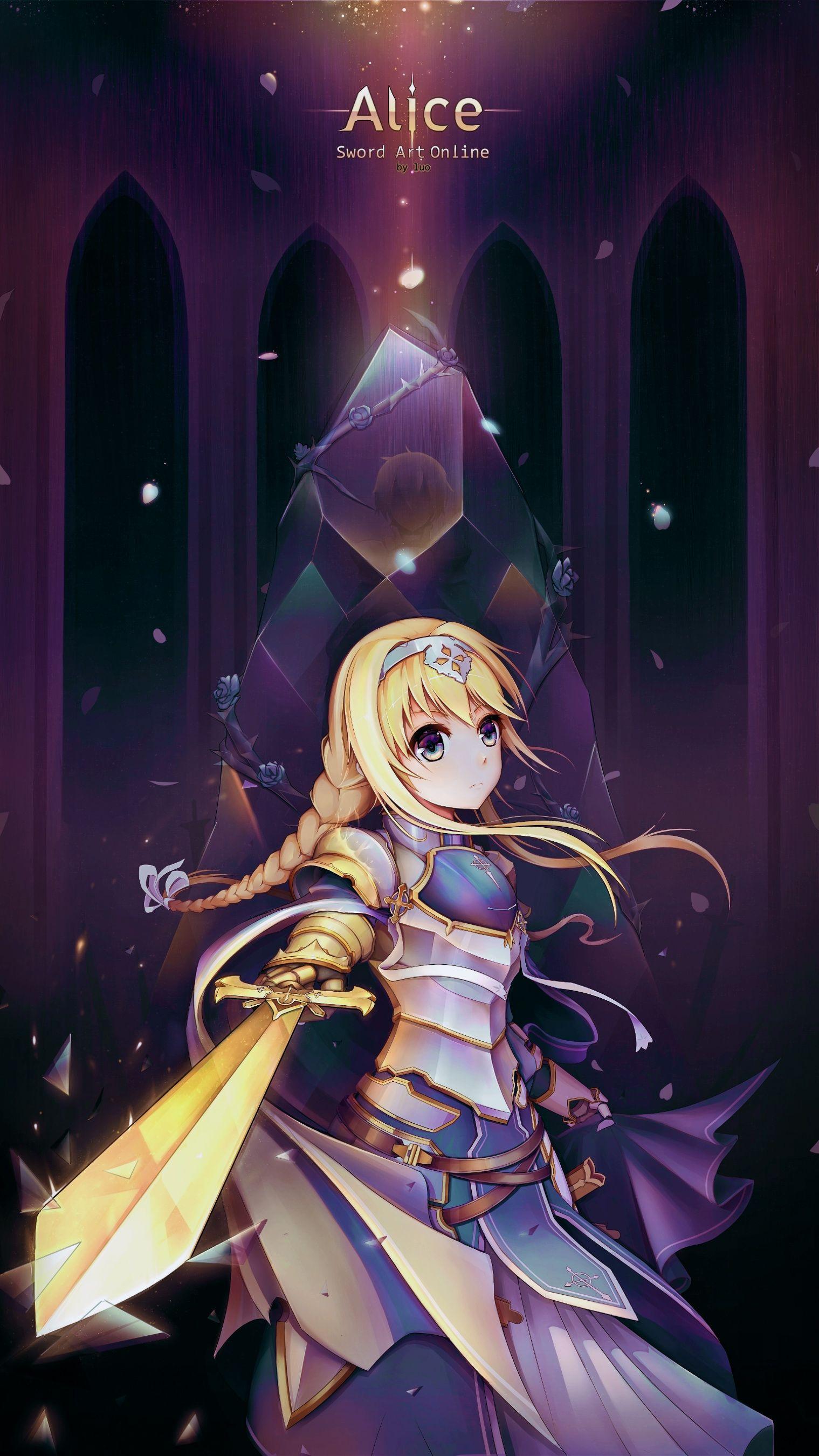Alice Zuberg Sao Fanart Manga Anime Animegirl Gg Sword Art Sword Art Online Online Art