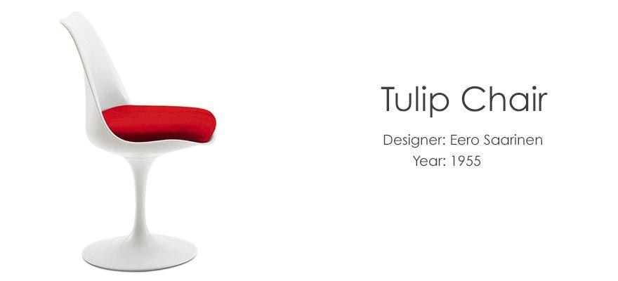 Tulip Chair   Designer Eero Saarinen