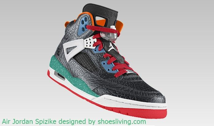 the latest ce7a6 a3a59 Customize Your Own Air Jordan Spizike iD