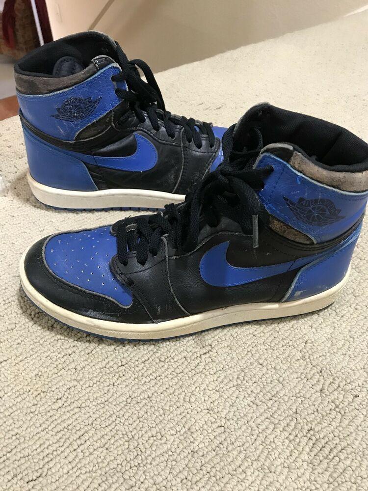 finest selection 03364 ed5f9 eBay #Sponsored 1985 Nike Air Jordan 1 High Og Royal Blue Sz ...