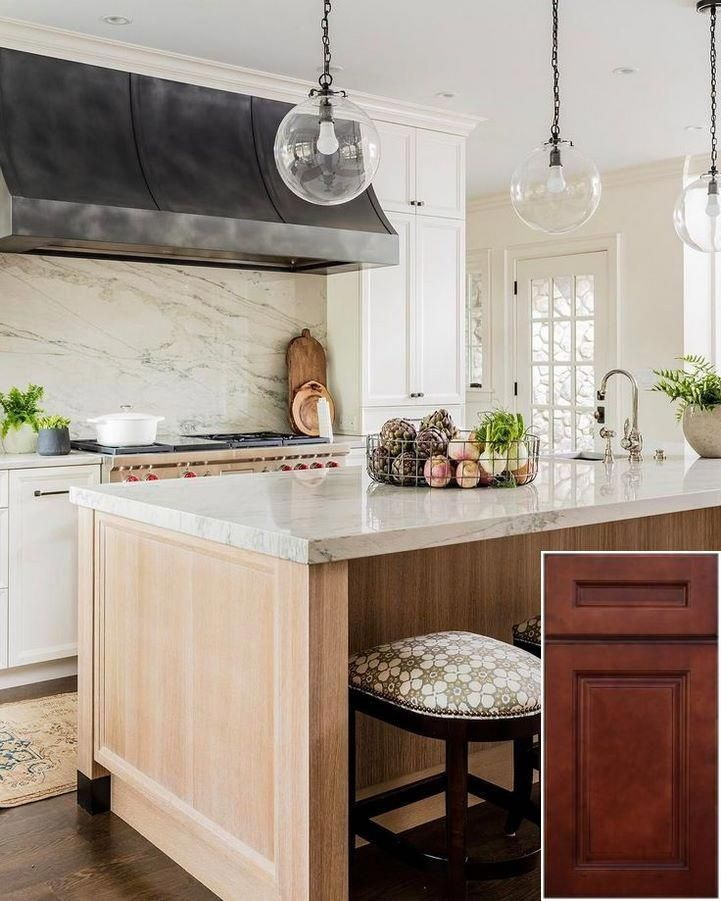 Types of - resurfacing honey oak cabinets.   Farmhouse ...
