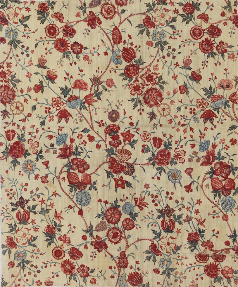 "Smithsonian World Map Rug: Robert-hadley: "" Textile ( India ), 18th Century Cotton"