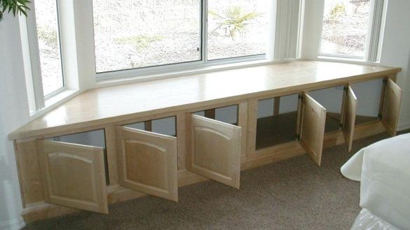 Stupendous Interior Bay Window Bench Seating Incredible Seat Kitchen Ncnpc Chair Design For Home Ncnpcorg
