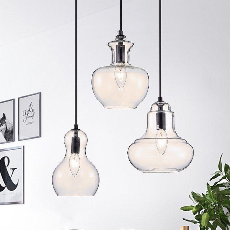 Westbrooks 3 Light Kitchen Island Pendant Stained Glass Lighting Adjustable Lighting Warehouse Of Tiffany