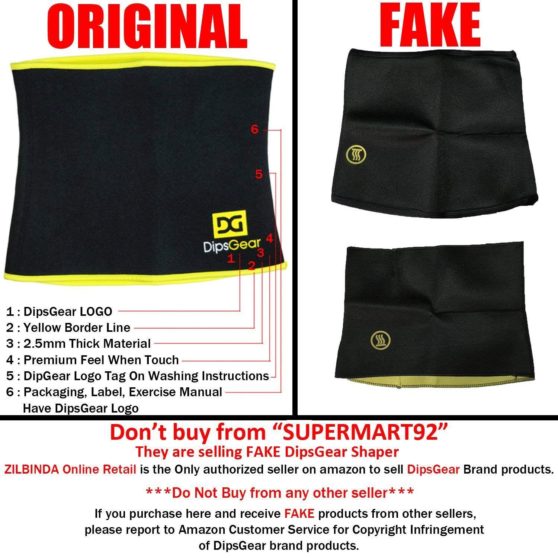 7ec19d2685373 DipsGear™ - Sweat Slim Belt Premium Series Hot Body Shaper