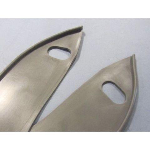 Lambretta Front Fender Gaskets - Series 3 Li 125/150 - Grey - Scootopia