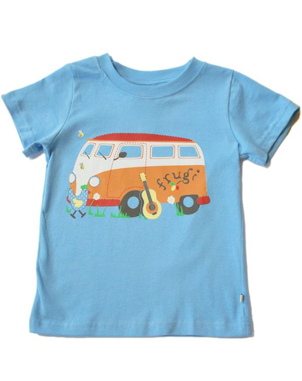 bf797b40 Camper van T-shirt - Unisex - Organic Clothes By Frugi | clothes ...