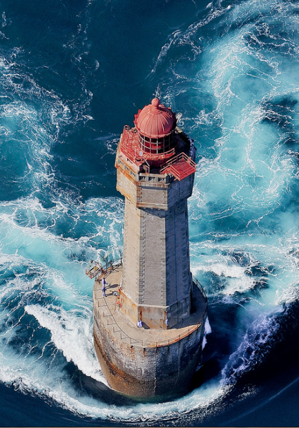 Quot La Jument Lighthouse Quot Ushant Brittany France