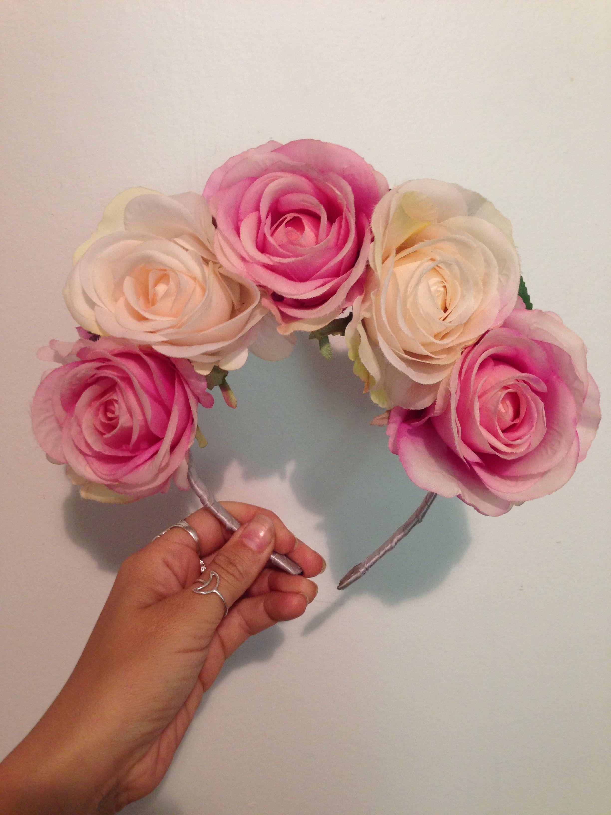 Neon Gypsy Flower Crown Made By Me N E O N G Y P S Y Pinterest