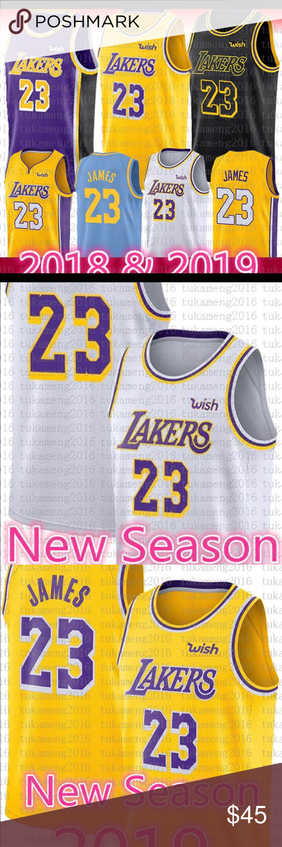 hot sale online eb436 31fdc Lebron James Lakers Jersey #23 All Sizes and Color I have ...