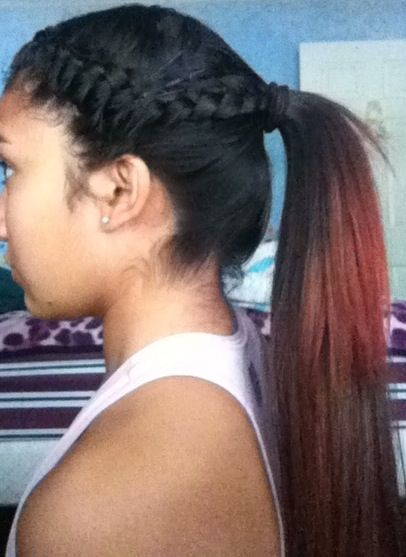 Super Simple Hair Style I Use This For Volleyball Games Practice