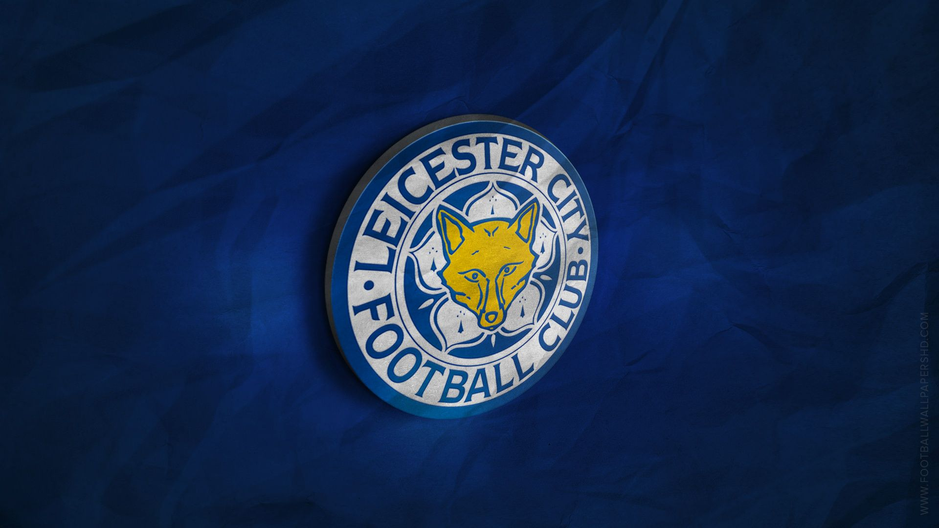 Leicester City 3d Logo Wallpaper Copa Del Mundo