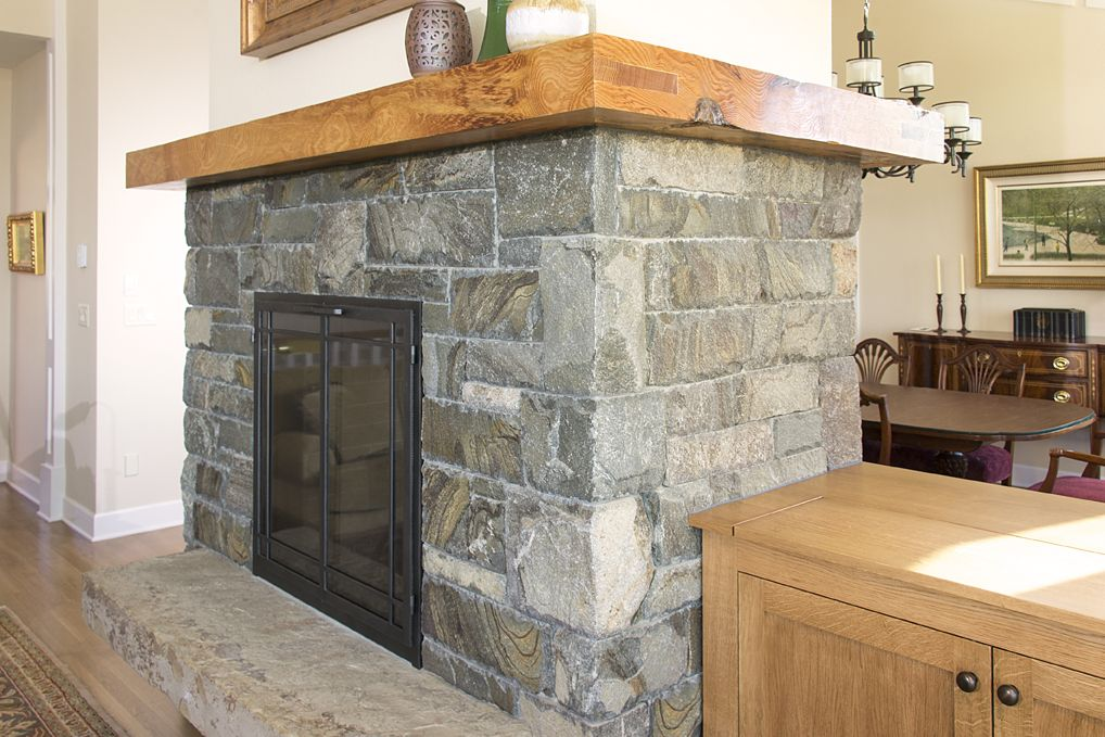 Indoor Fireplace Double Sided Natural Stone Natural Stone Hearth Slab Yamhill Vineyard New Construction Www Brownbrosmas Indoor Fireplace Fireplace Hearth