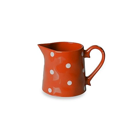 Bright and cheery Maxwell \u0026 Williams\u0027 charming Sprinkle Dinnerware transforms your table with whimsical style. Beautifully crafted in durable stoneware ...  sc 1 st  Pinterest & Maxwell \u0026 Williams™ Sprinkle Collection Creamer in Orange ...