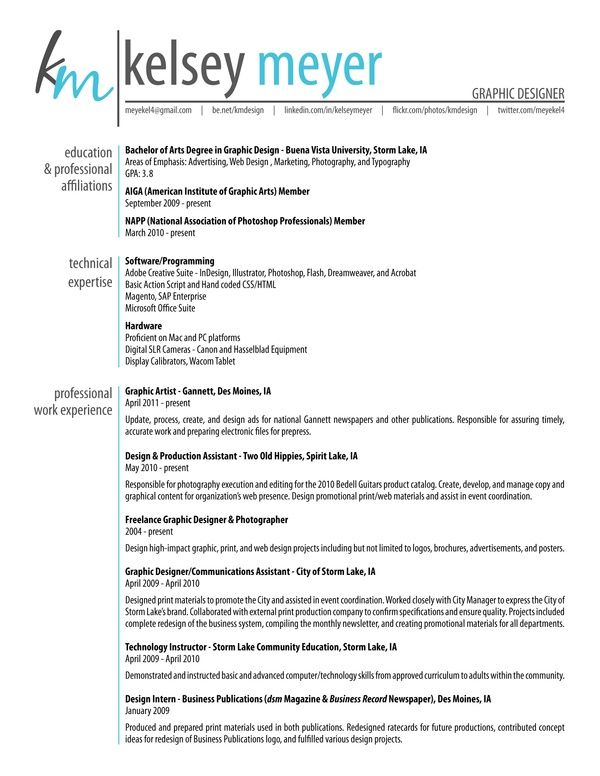 Graphic Designer Cv Sample  Career Care    Resume