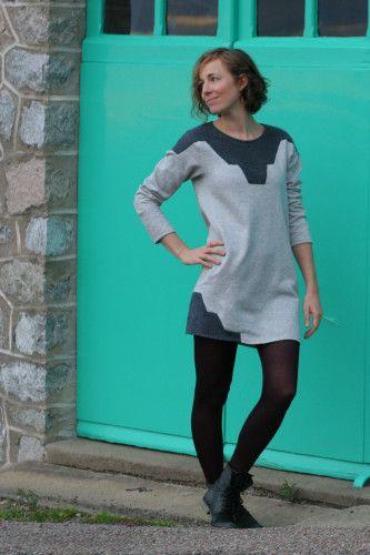 Introducing: Zircon Sweater/Dress   Nähen: Kleidung   Pinterest ...