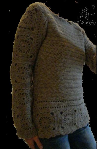 Top Épinglé par Marie-Noëlle Cattanéo sur crochet top/ gilet/ veste  PC07