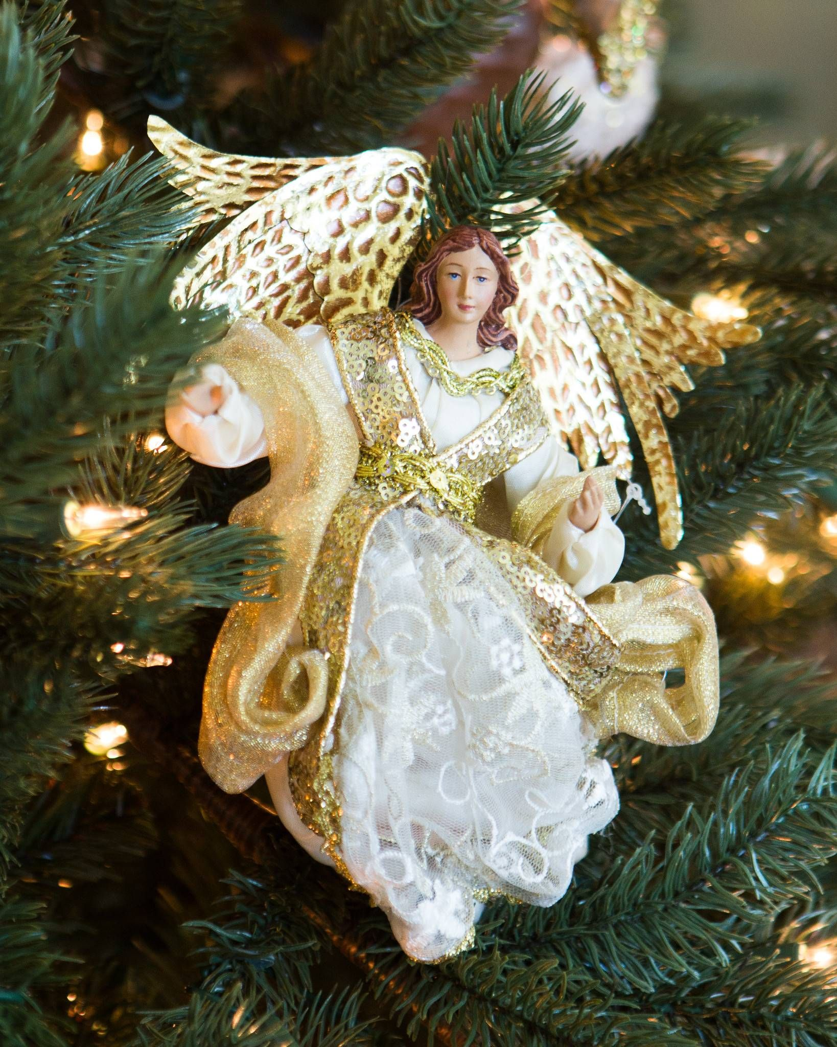 Angel Ornaments For Christmas Tree.Choir Of Angels Ornament Set Christmas Tree Ornaments