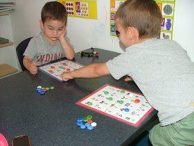 Little Hands, Big Work: ABC Bingo Love this site! Great ideas