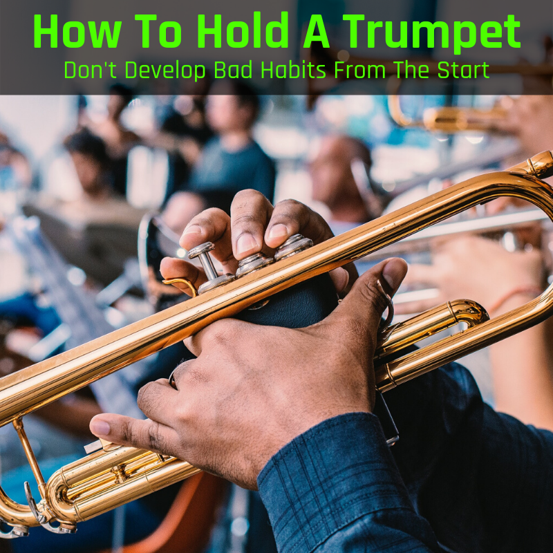 How To Hold A Trumpet Don T Develop Bad Habits From The Start Musicaroo Hold On Trumpet Bad Habits