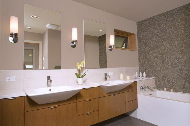 Contemporary Bathroom by Masterson Studio