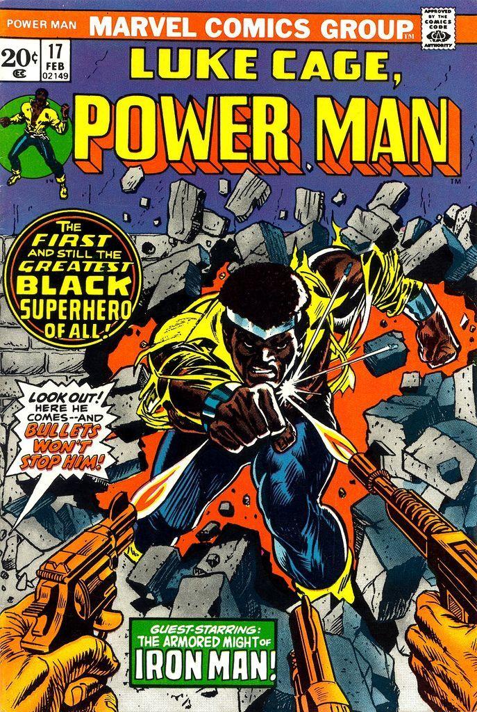 Luke Cage Power Man 17 - Gil Kane cover