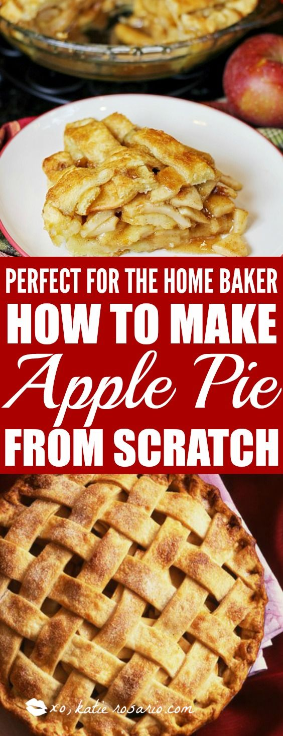 How To Make A Classic Apple Pie Katie Rosario Recipe Dessert For Dinner Best Christmas Recipes Classic Apple Pie