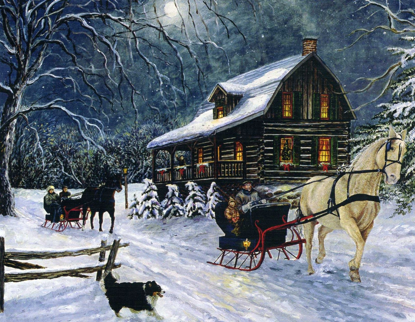 Beautiful christmas snow pictures the snow on christmas day in - I Heard The Bells On Christmas Day Their Old Familiar Carols Play And Wild And