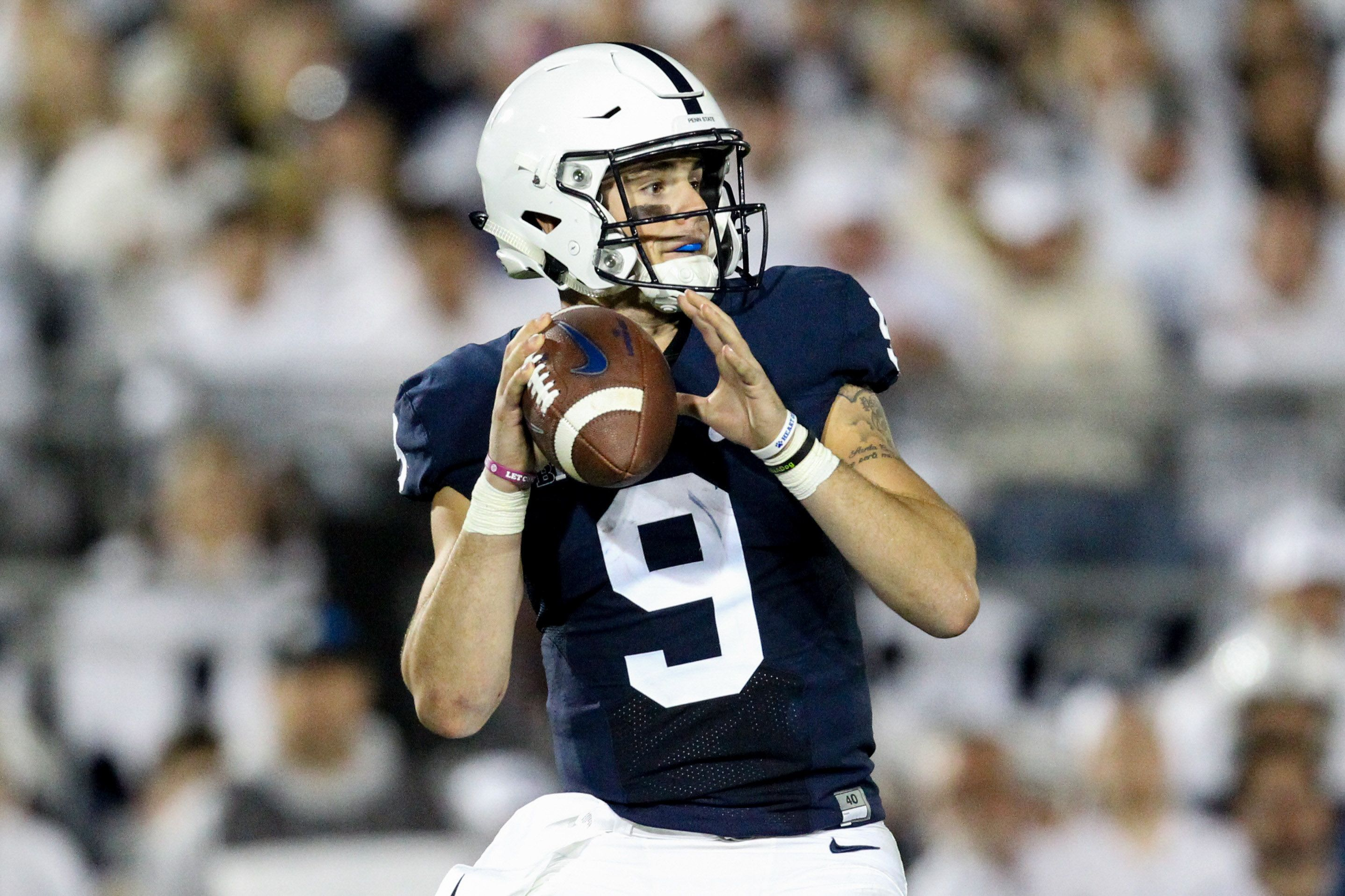 Trace McSorley Among Finalists For Unitas Award (With