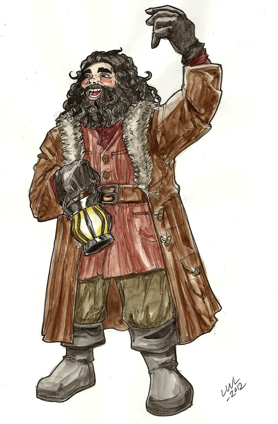 who is the gamekeeper of hogwarts