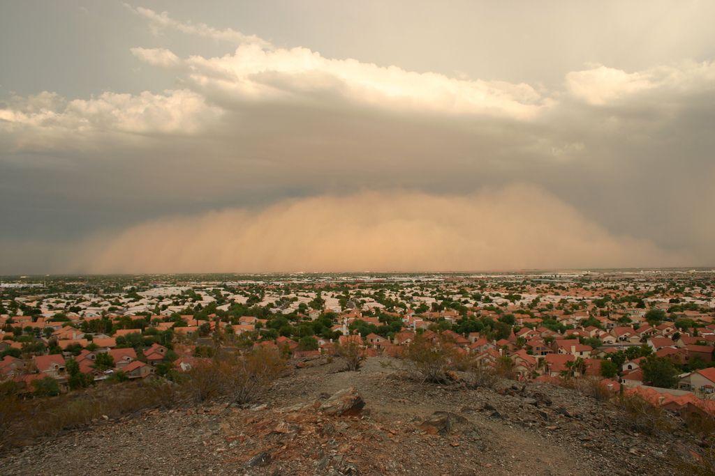 (Dust Storms) Phoenix, Arizona, 2011
