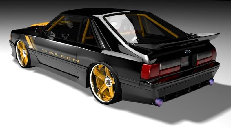 Pin By Threshold Solutions On Mustang Only Fox Body Mustang Saleen Mustang Ford Classic Cars
