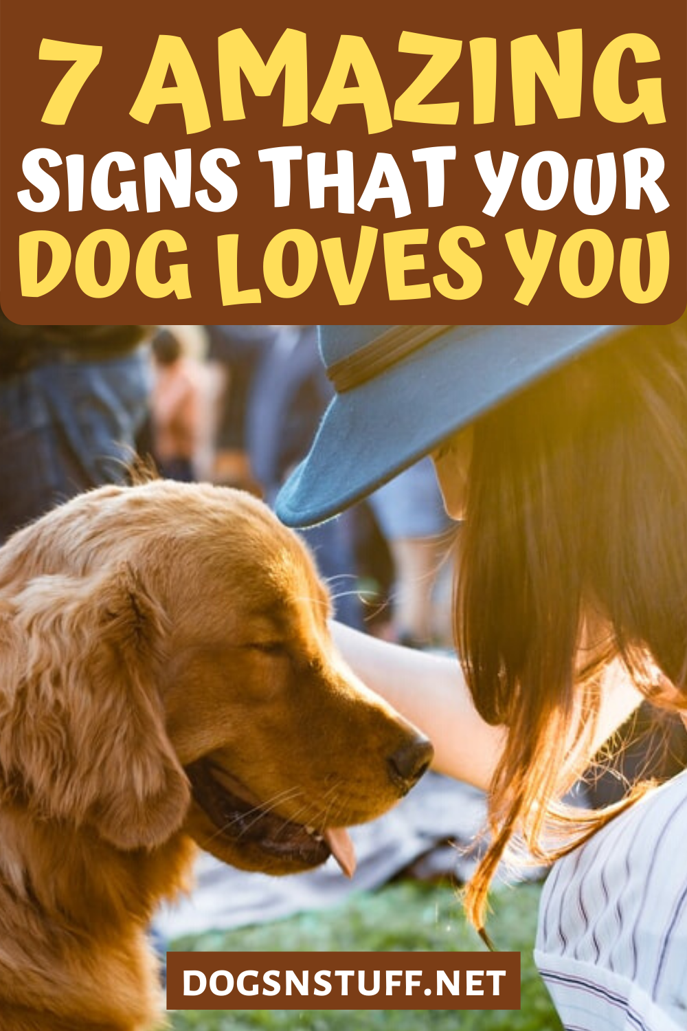 7 Amazing Signs Your Dog Loves You Dogs N' Stuff in 2020