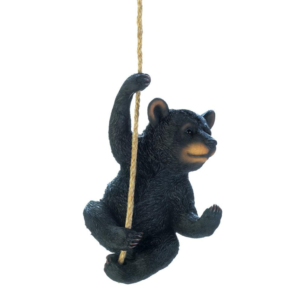 Hanging Black Bear Outdoor Decor Stellasaksa Outdoordecor Homedecor