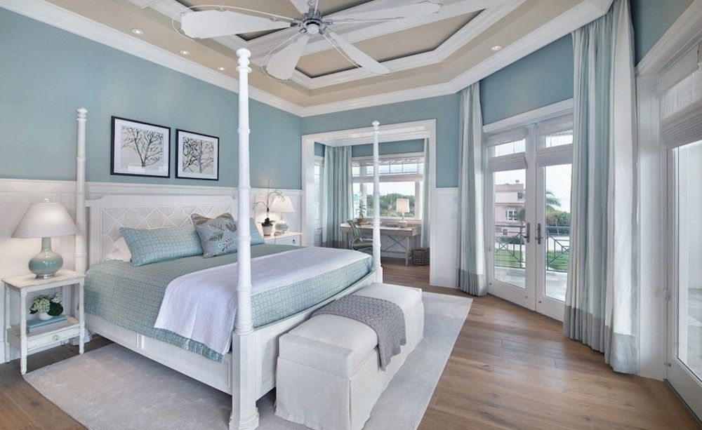 Why Our Brains Love Colorful Interiors Blue Bedroom