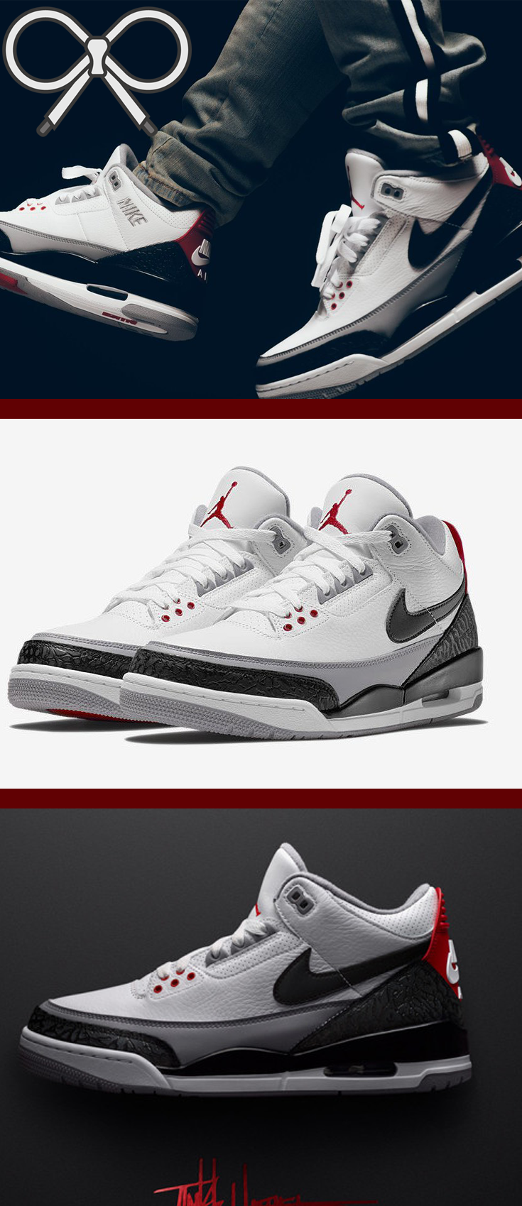 496137f0cb07 Based on the original Air Jordan 3 sketch by Tinker Hatfield.