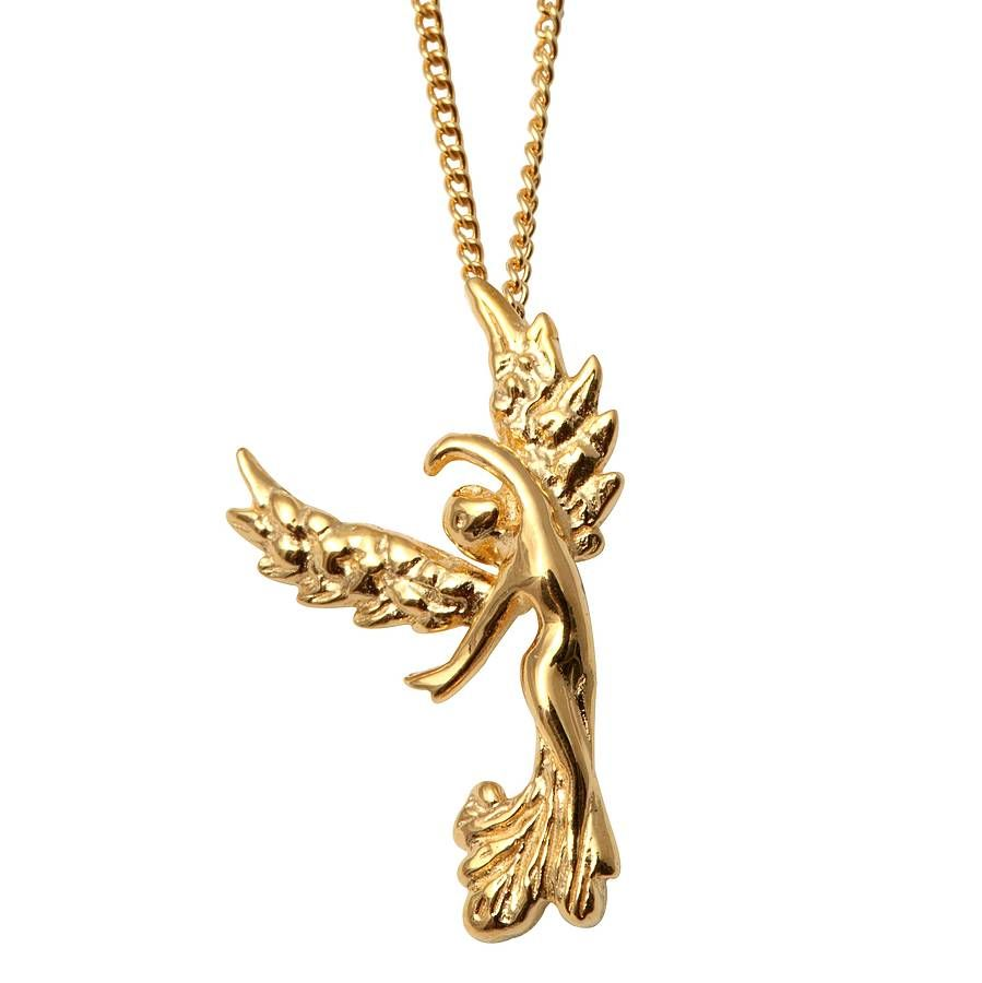 Golden Angel Necklace