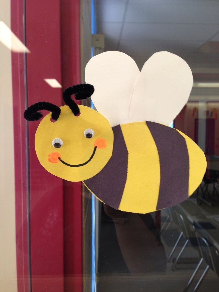 free bee craft idea (1) …   Ideas for my class   Pinterest ...