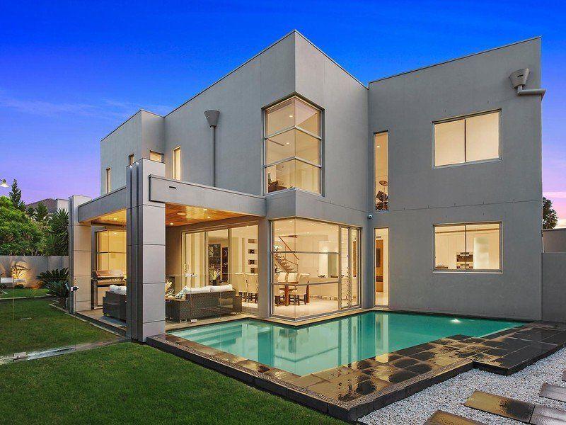 Modern Outdoor Living Arch Villas Modern House Outside Design
