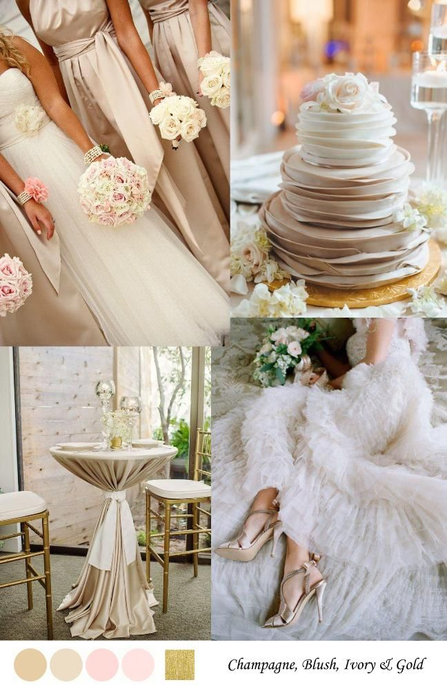 5 Spring Into Summer Pastel Wedding Color Combos