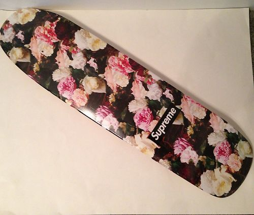 Supreme Pcl Power Corruption Lies Floral Skateboard Deck S